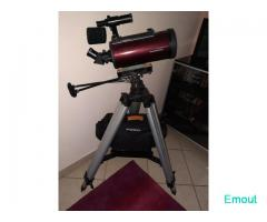 Orion Telescopio Maksutov MC 102/1300 Apex + skywatcher az3 + accessori
