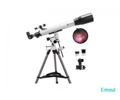 Telescopes for Adults, 70mm Aperture and 700mm Focal Length Professional Astronomy Refractor Telesco